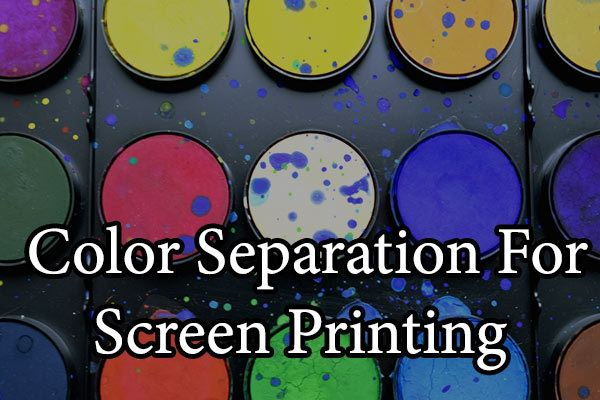 color separation for t shirt screen printing