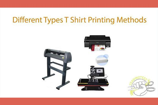 Different Types of T-Shirt Printing Method