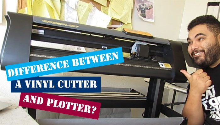 What Is the Difference Between a Vinyl Cutter and Plotter